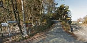 Passo del Prugno, verso Monte Battaglia (fonte: Street View)
