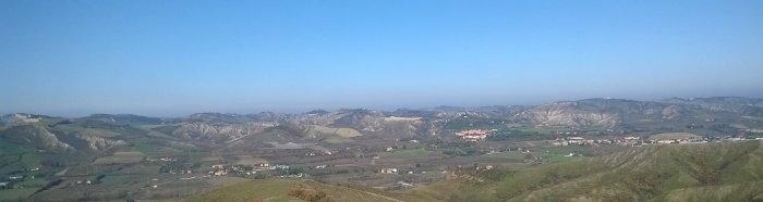 Panorama dalla Vena del Gesso